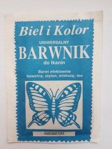 Barwnik - Biel i Kolor - niebieski