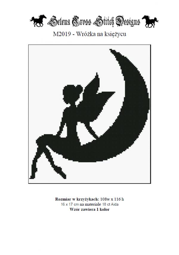 M2019 - Wróżka na księżycu