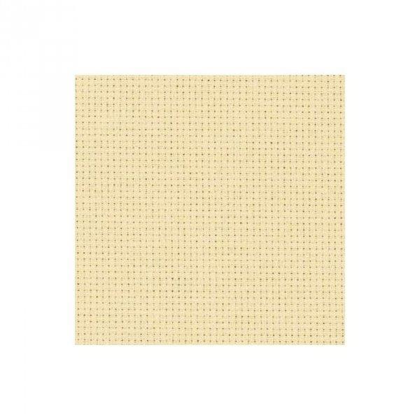 Kanwa Aida Zweigart 54/10cm (14ct)- 35x42-  jasnobezowy 3130