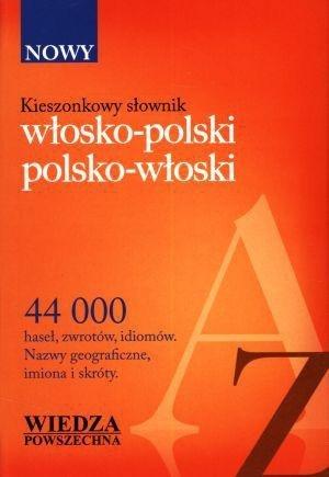 Kieszonkowy słownik włosko-polski, polsko-włoski.