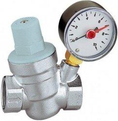 Reduktor ciśnienia wody Goshe 3/4 z manometrem