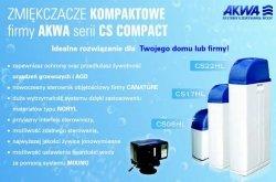 Zmiękczacz kompaktowy CS Compact 25l AKWA