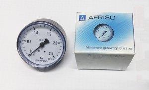 AFRISO manometr 63 0.6MPA axialny 63 538