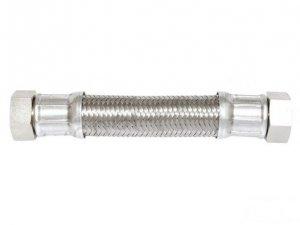 Wąż antywibracyjny fi 18 3/4x3/4 nakrętno-nakrętny L-90