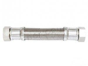 Wąż antywibracyjny fi 18 3/4x3/4 nakrętno-nakrętny L-80