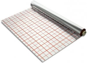 Folia aluminiowa ogrzewania podłogowego 50m