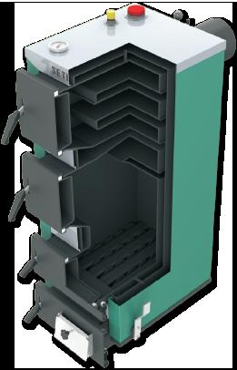 Kocioł SETLANS K 12 kW uniwersalny