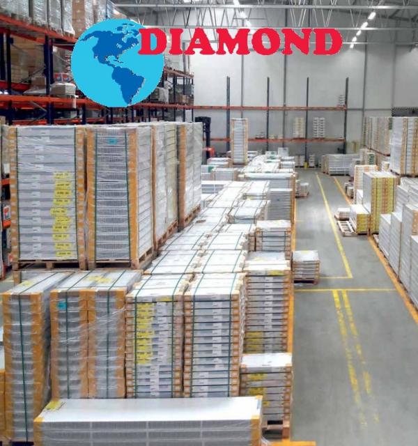 Grzejnik panelowy stalowy DIAMOND V22 600x1000