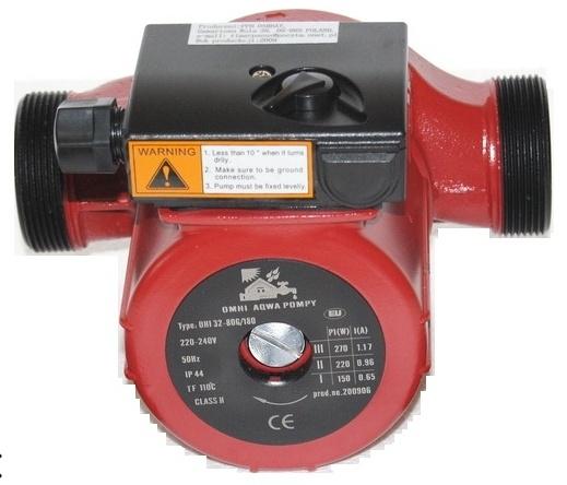Pompa obiegowa OHI 32-80/180 IBO