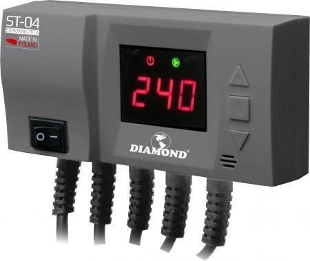 Sterownik pieca pompy C.O. oraz wentylatora nadmuchowego LED ST-04