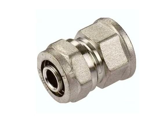 Złączka prosta PEX GW mufa 20x1/2 skręcana