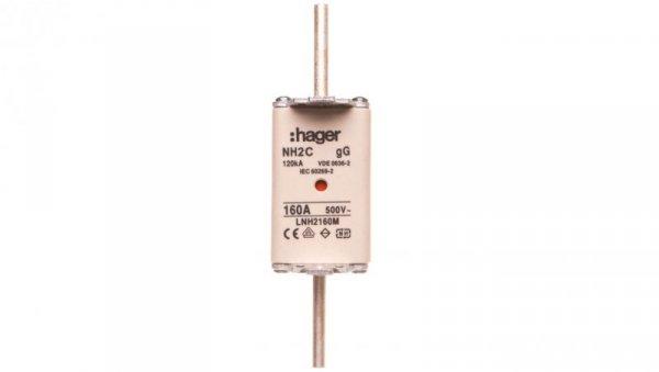 Wkładka bezpiecznikowa NH2C 160A 500V gG LNH2160M