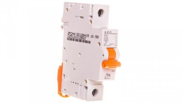 Wyłącznik nadprądowy 1P C 25A 6kA AC DE91C25 690814