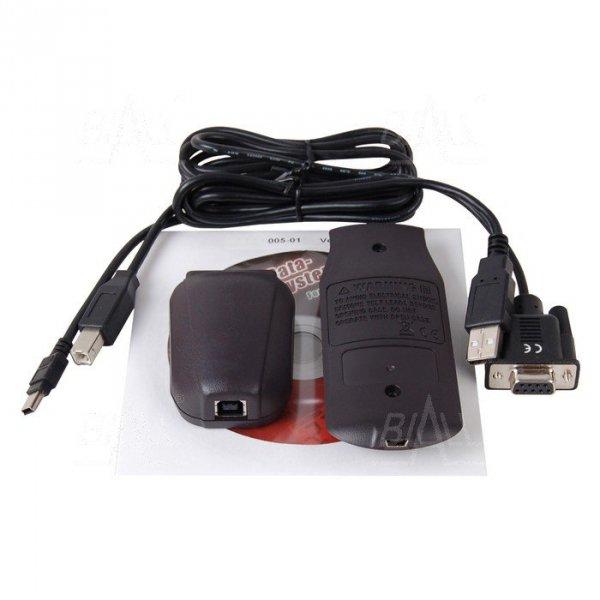 Kit BRUA-19X Kabel USB+program do BM197, BM195