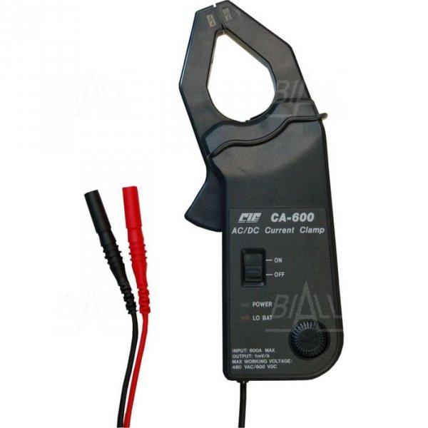 CIE CA600 Przystawka cęgowa 600A AC/DC pasmo AC 400Hz