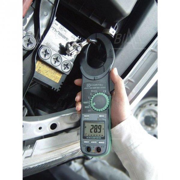 KEW2055 Miernik cęgowy 1000A AC/DC LCD6000