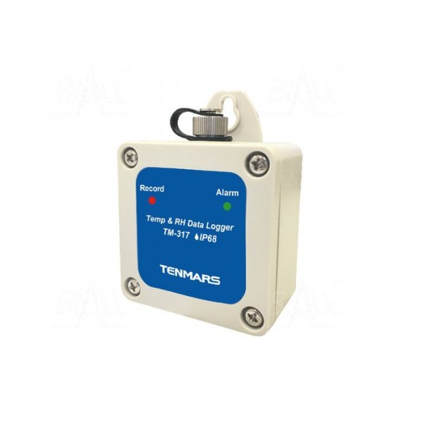 TM317 Termohigrometr rejestrator IP68, -40~ 85°C, 1~ 99% RH TENMARS