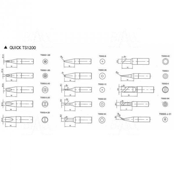 Grot TSS02-4C do Quick TS1200