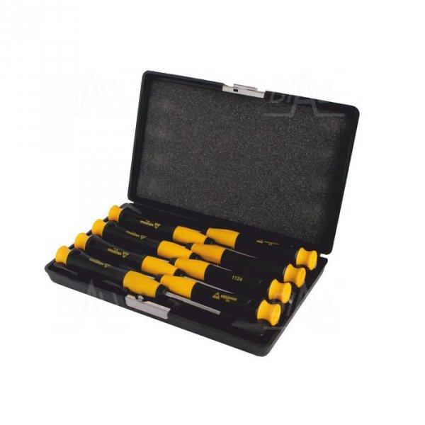 Zestaw wkrętaków ESD Torx 40mm (5,6,7,8) 60mm (9,10,15,20) WhirlPower 112-0908