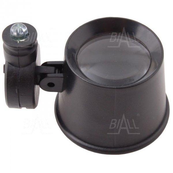 Lupa zegarmistrzowska LZ-2 21mm/10x  z podświetleniem LED