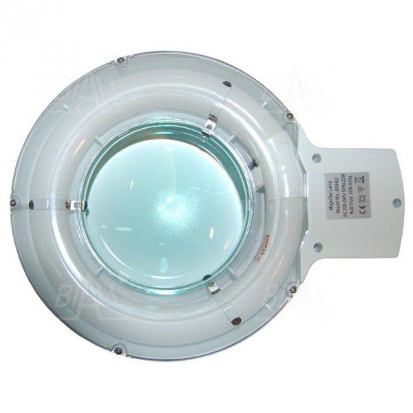 Lampa warsztatowa z lupą(127mm) 8066-1C 3D 22W