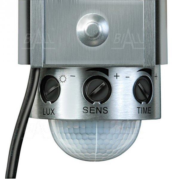 Lampa solarna LED 4W SOL80 ALU czujnik ruchu PIR i panel PV