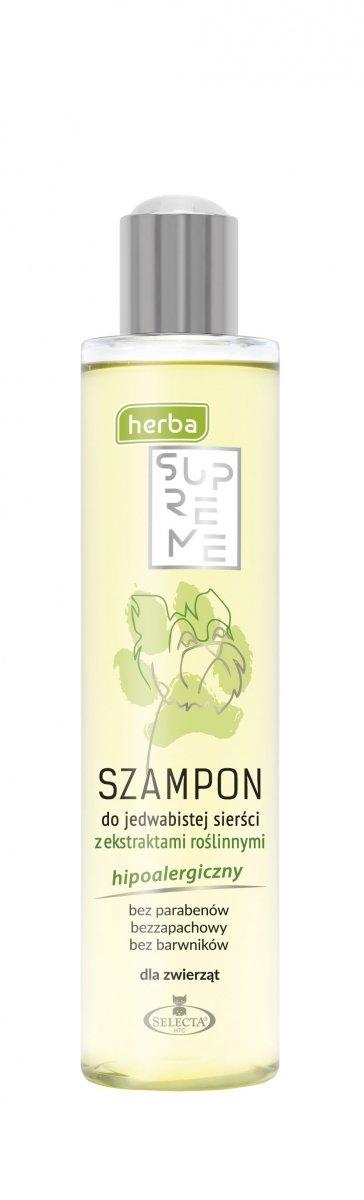 SELECTA Herba Supreme Szampon do Jedwabistej Sierści 250ml