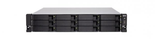 QNAP Serwer TS-1277XU-RP-2600-8G 12x0HDD 8GB RAM/2x10Gbe/rack