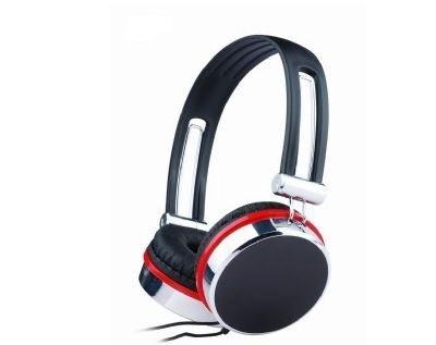 Gembird Słuchawki MHP-903 Black/Silver/Red 150cm