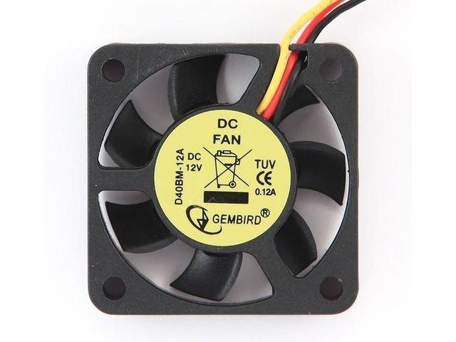 Gembird Wentylator VGA 40x40x10 3-Pin