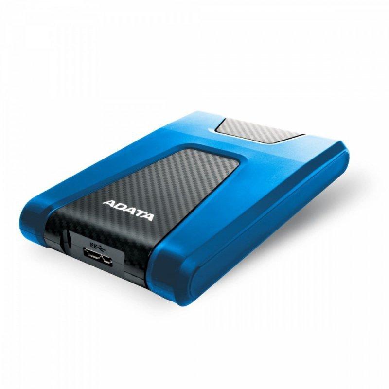 Adata DashDrive Durable HD650 1TB 2.5'' USB3.1 Niebieski