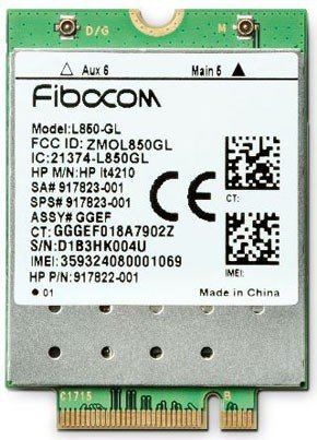HP Inc. XMM 7360 LTE-Advance WWAN 3FB01AA