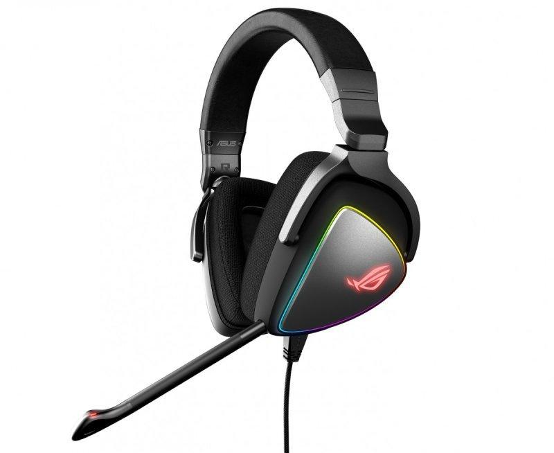 Asus Słuchawki ROG Delta RGB ESS Quad-DAC, Hi-Res, USB-C