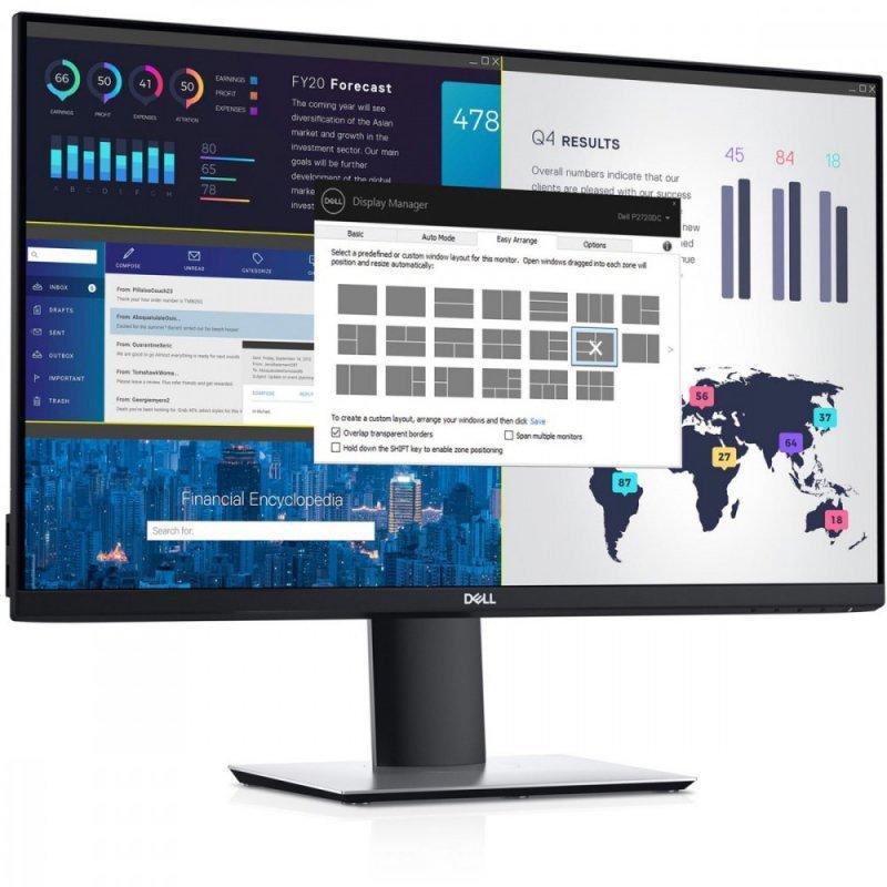 Dell Monitor P2720DC 27cali IPS LED QHD (2560x1440) /16:9/HDMI/DP/USB-C/4xUSB /3Y PPG