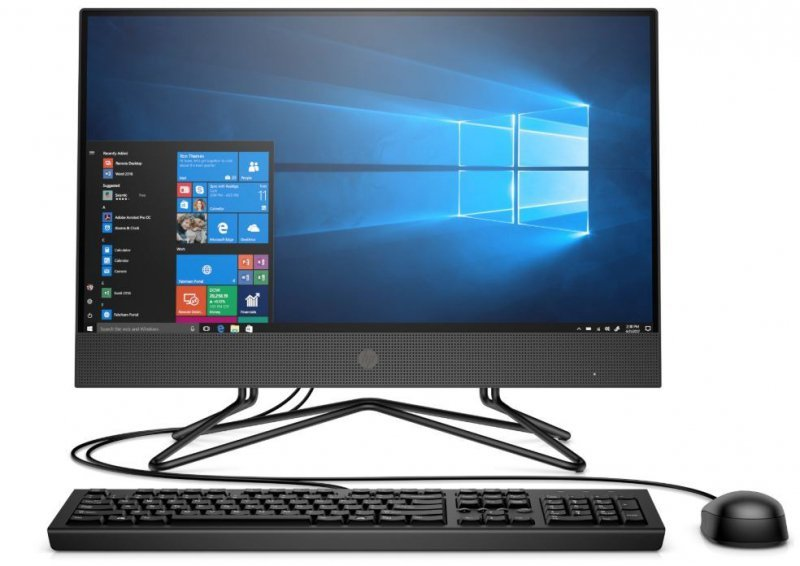 HP Inc. Komputer All-in-One 205G4 3050U 21,5 256/8G/DVD/W10P  9US06EA