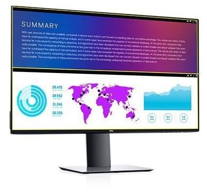 "Dell Monitor U2721DE  27"" IPS LED  QHD (2560x1440) /16:9/HDM/2xDP/USB-C/4xUSB 3.0/RJ-45/3Y PPG"