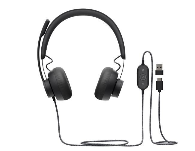 Logitech Słuchawki Zone Wired Headset Teams    981-000870