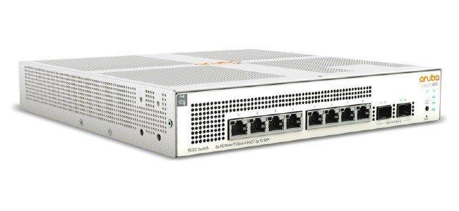 Hewlett Packard Enterprise Przełącznik Aruba Instant On PoE 8x1GbE 2xSFP 124W PoE JL681A