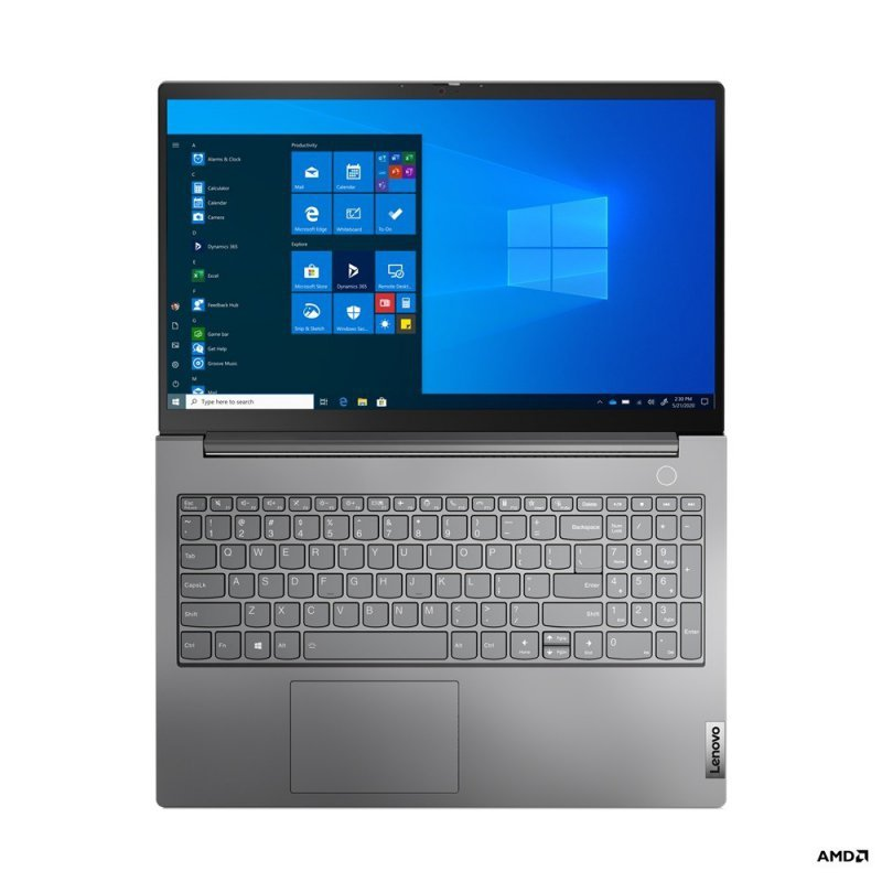 Lenovo Laptop ThinkBook 15 G2 20VG0006PB W10Pro 4500U/8GB/256GB/INT/15.6FHD/Mineral Grey/1YR CI