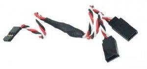 Y - kabel rozgałęziacz Futaba 60cm 26AWG skręcony