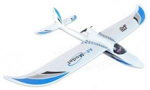 Sky Surfer 2.4GHz RTF (elektroszybowiec, rozpiętość 140cm, silnik bezszczotkowy) - Niebieski