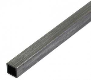 Profil węglowy kwadratowy 4,0/4,0 x 1000 mm otwór 3,0 mm