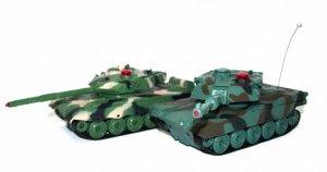 Para walczących czołgów American M1A2 i Chinese 96 1:32 27/40MHz