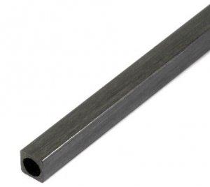Profil węglowy kwadratowy 6.0/6.0 x 1000 mm otwór fi 5,0 mm