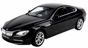BMW 6 RASTAR 1:14 (zasilanie na baterie AA) - Czarny