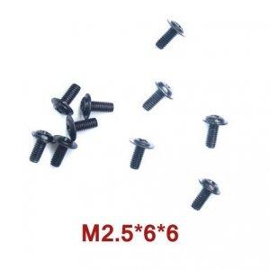 Śrubki 2.5 x 6 x 6 10szt - A949-43