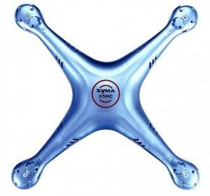 Obudowa niebieska - X5HC-01B - POSERWISOWA (przekładnie, LED, osłony)