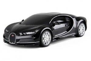 Bugatti Chiron 1:24 RTR (zasilanie na baterie AA) - Czarny