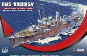 HMS Anchusa Brytyjska Korweta klasy Flower K186