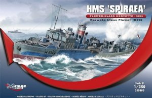 HMS SPIRAEA Brytyjska Korweta klasy Flower K08